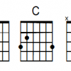 Baritone Guitar Chord font